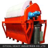 Filter van de Schijf van de Machines van de mijnbouw de Vacuüm voor het Ontwateren van het Erts