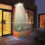 太陽照明は動きセンサーが付いている屋外の壁の機密保護ライトを防水する