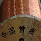 Fio de alumínio folheado de cobre para o fio da trança como o cabo flexível