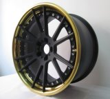 Kundenspezifisches Three-Piece Forged Alloy Wheel für Sale