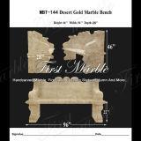 大理石のベンチ及び表の石造りのベンチ及び表の花こう岩のベンチ及び表の砂漠の金のベンチMbt144