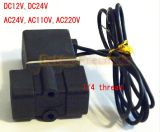 """valvola bevente di plastica della miniatura della valvola della macchina di 0~0.8MPa -5~80'c DC12V dell'elettrovalvola a solenoide 2p025-08 1/4 """""""