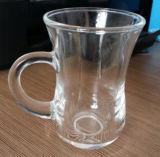 明確なガラスコップのビールのジョッキのコーヒーカップのKbHn0617