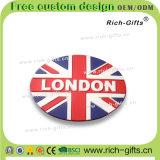 Aimants de réfrigérateur de Londres avec l'union Jack Grande-Bretagne (RC-UK) de cadeaux de promotion