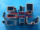 Profilo di alluminio di profilo di alluminio di alluminio del materiale da costruzione per industria del portello della finestra con il rivestimento Surfacement della polvere