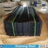 Folha ondulada galvanizada, Folha galvanizada revestida de zinco para Roofig