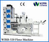 De automatische Grafische Machines van de Druk van het Etiket Flexo (WJRB320A)