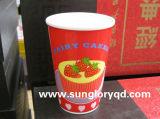 L'étiquette renforcent la tasse de porcelaine sans traitement de Lkb011