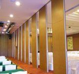 Высокая ядровая деревянная перегородка доказательства, подвижные стены для Wedding Hall