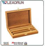 Casella di legno del ricordo della cassa del regalo della sigaretta del sigaro con l'inserto della gomma piuma della bolla di EVA (YL20)