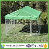 取り外し可能な犬のケージか犬の実行のホームまたは犬の犬小屋