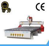 Holzbearbeitung CNC-Maschinerie/doppeltes Spindel CNC-Holz, das Maschinerie schnitzt