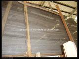 コーヒー木の静脈の大理石の平板かブラウンの木製の静脈の大理石の平板または中国の大理石の平板