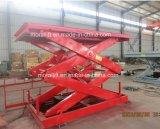 Levage de levage de ciseaux de cargaison fixe d'entrepôt (SJG)