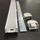 Het Profiel van het Polycarbonaat van de co-extrusie voor het MiniHuisvesten van de Lichten van het usb- Boek