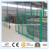 Дверь загородки изготовления Китая гальванизированная высоким качеством