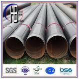 물을%s 대직경 입힌 그려진 나선형 Anti-Corrosion 강관 또는 기름 또는 가스