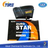 Fournisseur d'usine de chambre à air de caoutchouc butylique de moto d'étoile de Duro