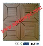 Los azulejos del Decking de WPC DIY son uso para al aire libre