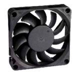 高温度の環境のための高い空気インピーダンスDC7015冷却ファン、