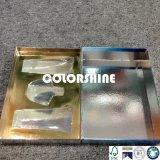 Personalizado azul caja de regalo de embalaje de papel cosmético