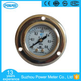 indicateur de pression rempli par glycérine monté par panneau de l'eau d'acier inoxydable de 40mm