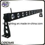 Super brillante RGBW 12 * 4in1 / a LED Stage Bar Lights
