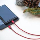 Cable micro del USB de la nueva extremidad extralarga del diseño 2017 para la nota 4 del borde de la galaxia S4 S6 S7 de Samsung 5 jugador de MP3 androide de la cámara del LG G3 G4 Canon Nikon