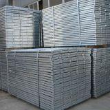 Plancia galvanizzata di vendita calda del metallo dell'impalcatura, plancia d'acciaio, schede d'acciaio