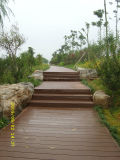 Synthetische Teak WPC Decking