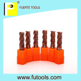 2 Flutes reto Solid Carbide Extremidade Mill para MDF/Plywood