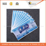 custom Security Custom Adhesive Paper Label Printing Company 홀로그램 스티커