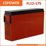 Batteria sottile dell'UPS delle Telecomunicazioni terminali di accesso anteriore del rifornimento 12V175ah della Cina & del gel solare