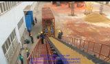 Hongda 100m3 / H Hormigón Móvil de la planta de mezcla
