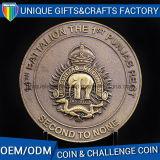 Moneta molle dello smalto con la moneta a resina epossidica del metallo
