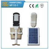réverbère solaire Integrated de 12W DEL avec du ce et RoHS reconnu