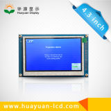 "Pulgada 480*RGB*272 del panel 4.3 del LCD TFT "" para el teléfono video de la puerta"