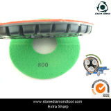 Résine-Bond Marble Polishing Pads de 180mm Dry Concrete pour Floor Grinders