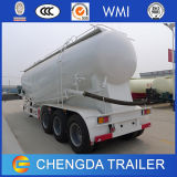 China 3 Axles 45m3 Bulk Cement Tank Semi Trailer für Sale