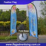 表示染料の昇華印刷の上陸海岸表示旗、涙のフラグ、羽のフラグ
