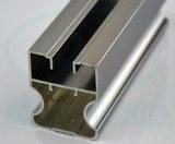 Revestimento de alumínio colorido personalizado do pó da porta de Wordrobe Silding do perfil, ruptura térmica, anodizando, prata que lustra, polonês dourado