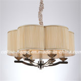 Pendente de bronze Lamp de Color Iron com Fabric Shade (SL2060-6)