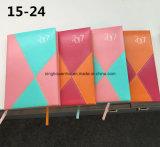 2017 최신 판매 PU 가죽 일기 노트북