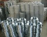 o eletro de 22gauge 7kg/Roll galvanizou o fio do ferro de Wire/Gi/fio obrigatório galvanizado para Arábia Saudita