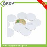 Mini NFC Tag Printable do PVC RFID com etiqueta adesiva