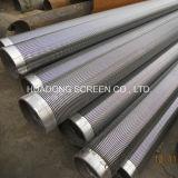 Elemento filtrante dell'elemento filtrante del filamento del cuneo della strumentazione del filtrante di trattamento di acque luride/acciaio inossidabile