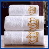 100%年の綿の王冠のホテルの浴室タオル(QHD99088)