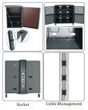 """Videokonferenz Stand Dual Screen 30-60 """" Lockable Cabinet (VRS 2000A)"""