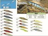 Attrait de pêche de l'amorce 90mm de vairon développé par qualité