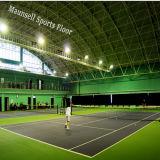 2017年のHoteの販売のテニスのプラスチックは草パターンが付いているフロアーリングを遊ばす